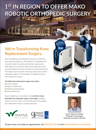 We're Transforming Knee Replacement Surgery