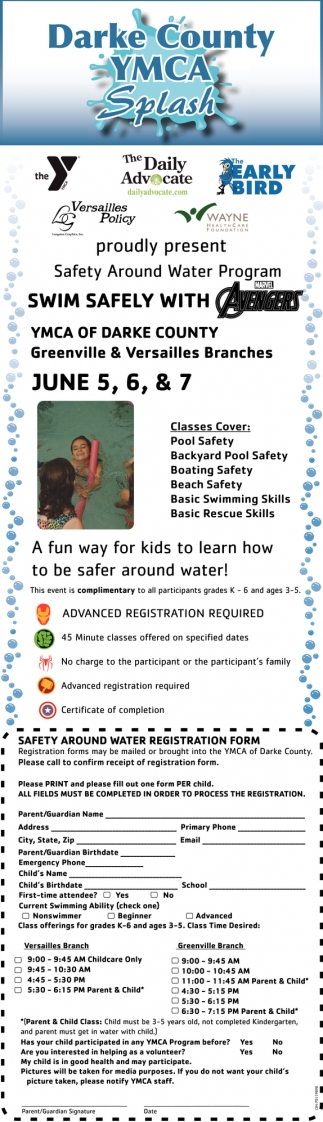 Safety Around Water Program