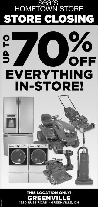 Up To 70% off Everything in Store