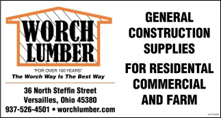 General Construction Supplies