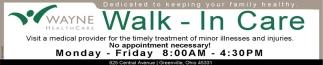 Walk - In Care