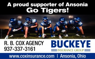 A proud supporter of Ansonia Go Tigers!