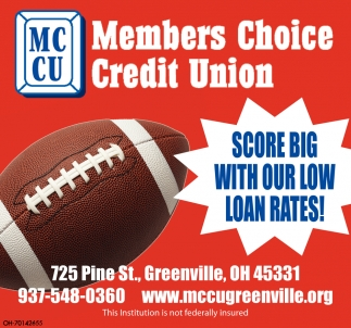 Score big with our low loan rates!