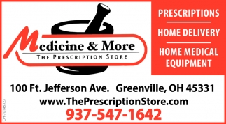 Prescriptions - Home Delivery - Home Medical Equipment