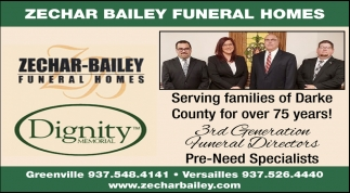 Serving families of Darke County for over 75 years!