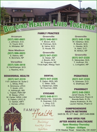 Building healthy lives together