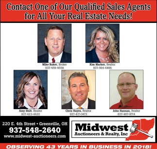 Contact one of our qualified sales agents for all your real estate needs!