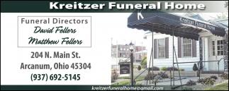 Funeral Directors David Fellers, Matthew Fellers