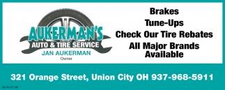 Auto & Tire Service