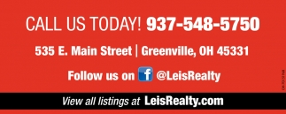 Call us today! 937-548-5750