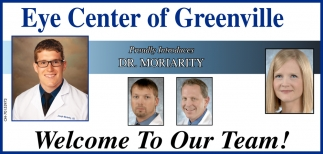 Proudly Introduce Dr. Moriarity
