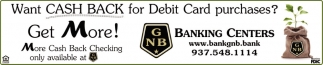 Want Cash Back for Debit Card purchases?