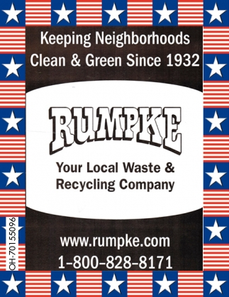 Keeping Neighborhoods Clean & Green Since 1932