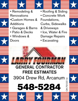 General Contractor - Free Estimates
