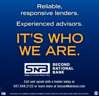 Reliable, responsive lenders. Experienced advisors