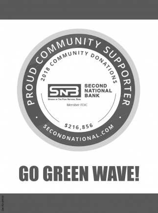 Go Green Wave!