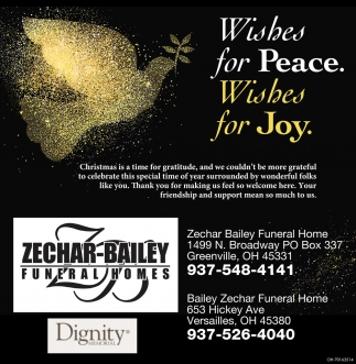 Wishes for Peace. Wishes for Joy