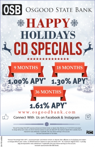 Happy Holidays - CD Specials