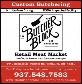 Custom Butchering
