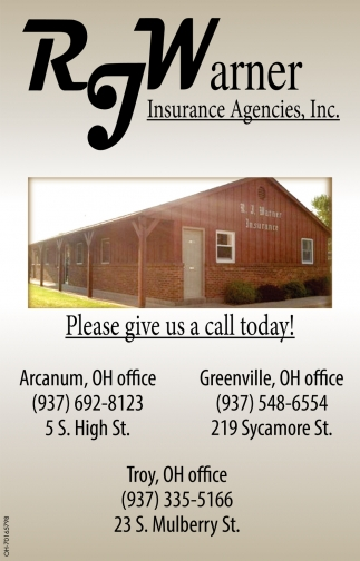 Please give us a call today!