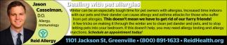 Jason Casselman, Certified Allergist / Inmunologist