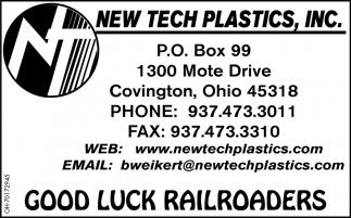 Good Luck Railroaders