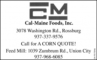 Call For A Corn Quote!
