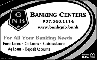 For All Your Banking Needs