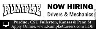 Drivers & Mechanics