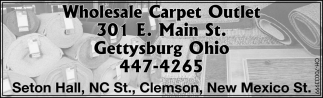 Wholesale carpet, tile, and wood flooring
