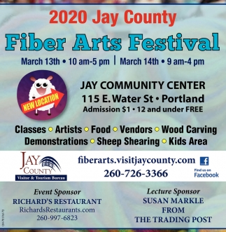 Jay Community Center - March 13th - March 14th