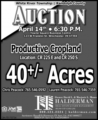 Auction - April 14th