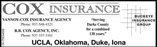 Serving Darke County for a combined 138 years