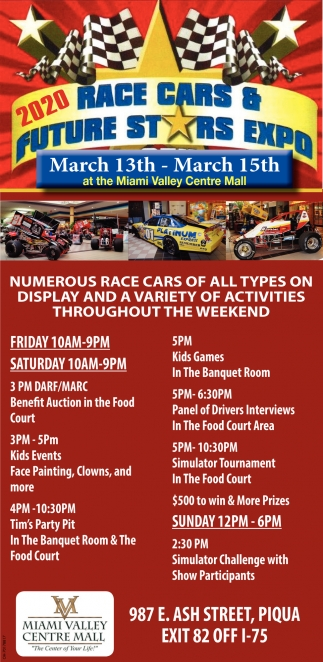 2020 Race Cars & Future Stars Expo