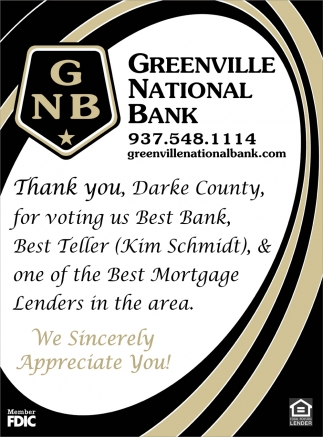 Best Bank, Best Teller, & one of the Best Mortgage Lenders in the area