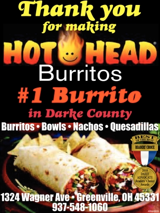 1 Burrito in Darke County