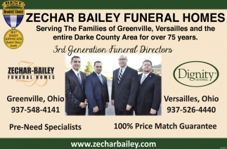 Serving the families of Darke County for over 75 years