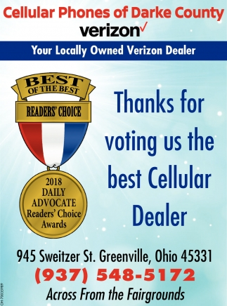 Thanks for voting us the best Cellular Dealer