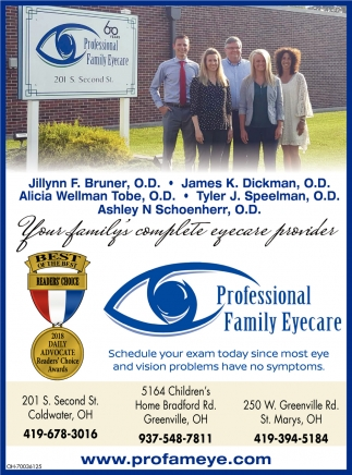Your family's complete eyecare providers