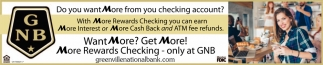 Do you want more from your checking account?