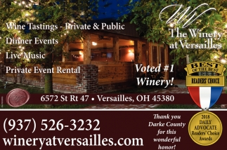 Voted 1 Winery!
