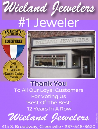 1 Jeweler, Thank You