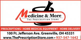 Medicine & More