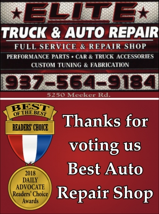 Full Service & Repair Shop