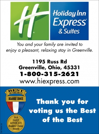 Thank you for voting us the best of the best
