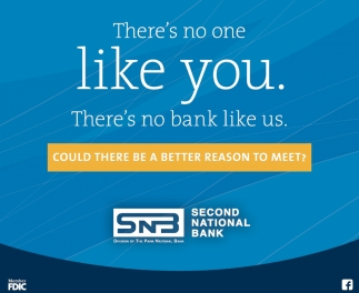 There's no one like you. There's no bank like us.