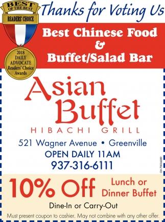 Best Chinese Food & Buffet/Salad Bar