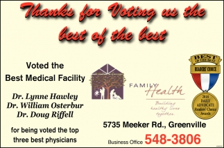 Best Medical Facility
