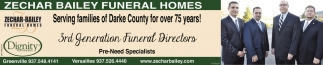 Serving families of Darke County for over 75 years