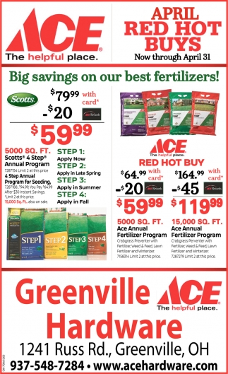 Big savings on our best fertilizers!